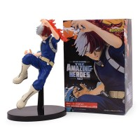 Figurine My Hero Academia : Shoto Todoroki Attaque Boite