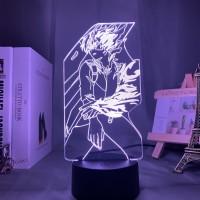 Lampe 3D My Hero Academia : Shoto Todoroki Attaque