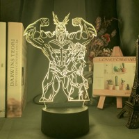 Lampe 3D My Hero Academia : All Might