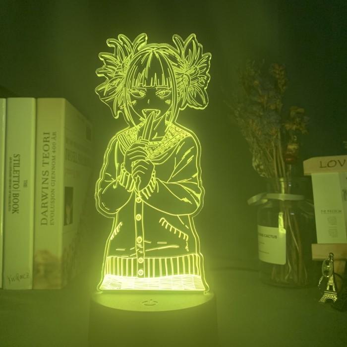 Lampe 3D My Hero Academia : Himiko Toga