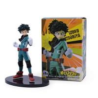 Figurine My Hero Academia : Izuku Midoriya En garde Boite