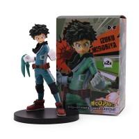 Figurine My Hero Academia : Izuku Midoriya Combattant Boite