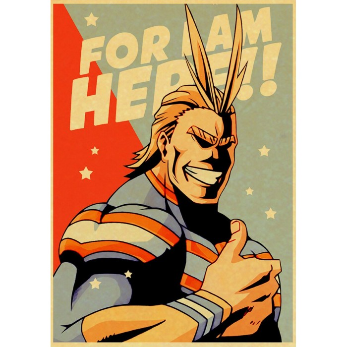 Poster My Hero Academia : All Might